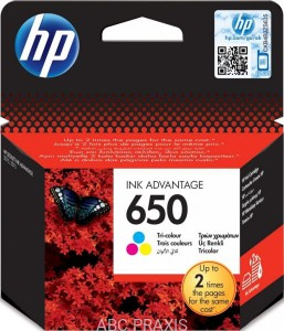 Cartridge HP nr 650 (kolor) oryg.